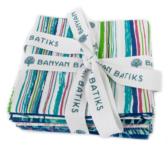 QUILTsocial Giveaway 262: Boho Beach 10-Fat Quarter Bundle!