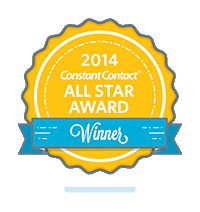 Constant Contact All-Star Award Badge