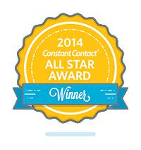 Constant Contact All-Star Award Badge
