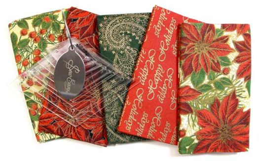 Festive Fabric Bundle and Template Set