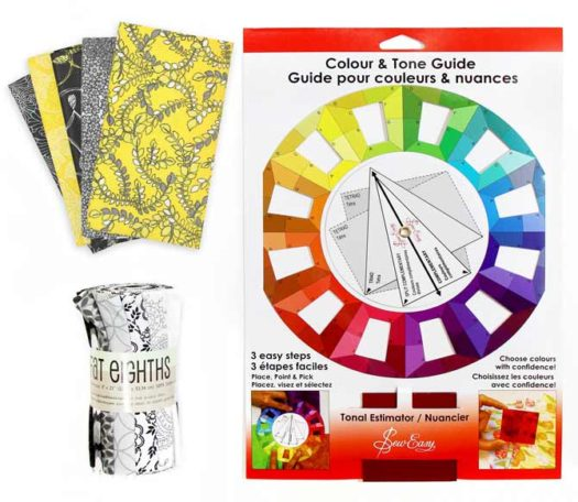 Fat Quarters and Color Tone Guide
