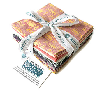 Banyan Batiks Intaglio 12 Fat Quarter Fabric Bundle!