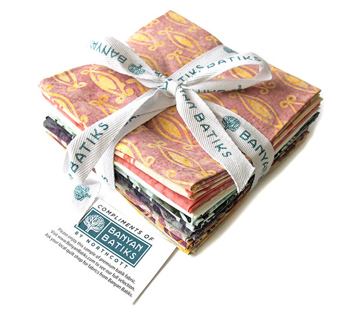 Banyan Batiks Intaglio Fat Quarter Fabric Bundle