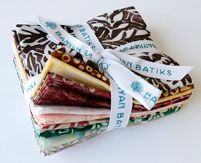 Banyan Batiks Kayana Fat Quarter Fabric Bundle