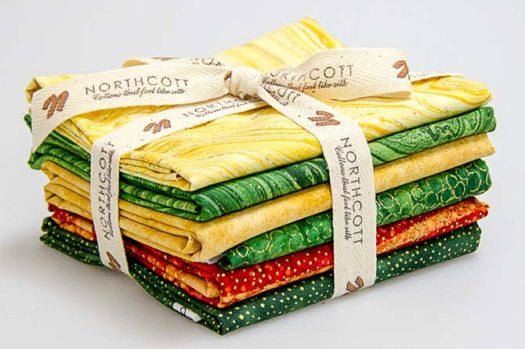 Northcott Sunflower Fabric Bundle