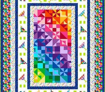 3 Ways To Use Fabric Panels For Quilt Blocks And Borders