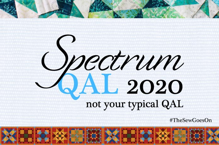 QUILTsocial Spectrum QAL 2020 - join the fun!