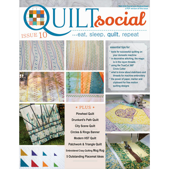 QUILTsocial Issue 10 Cover