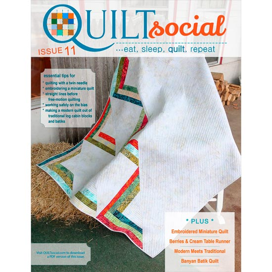 QUILTsocial Issue 11 Cover Image