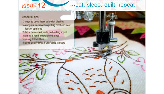 Free quiltsocial magazine issue now available quiltsocial
