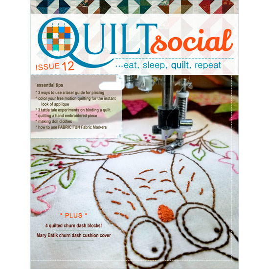 QUILTsocial Issue 12 Cover