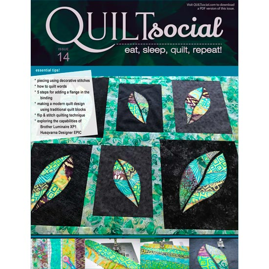 QUILTsocial Issue 14 Cover