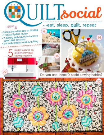 QUILTsocial Issue 4 Cover