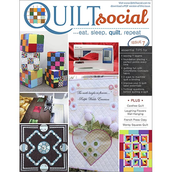 QUILTsocial Issue 7 Cover