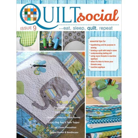 FREE QUILTsocial Magazine Issue 9