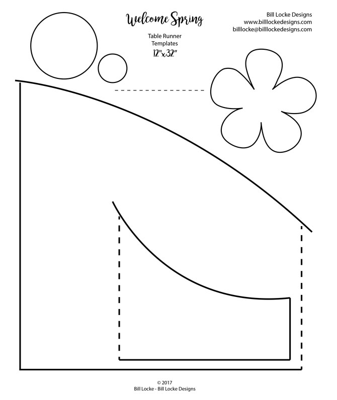 Welcome Spring templates, click on the picture to download PDF