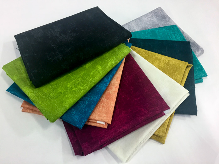 10 Fat Quarters from the Northcott Canvas Collection