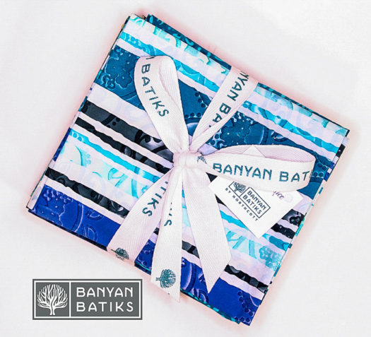 Fat Quarter Bundle of Darling Lace by Banyan Batiks