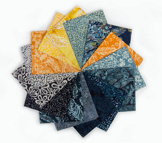 Banyan Batiks Feathers Fat Quarter Bundle