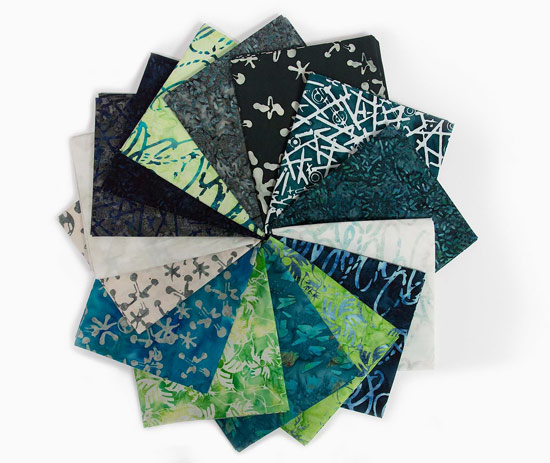 QUILTsocial Giveaway 219: Banyan Batiks Recess Fat Quarter Bundle!