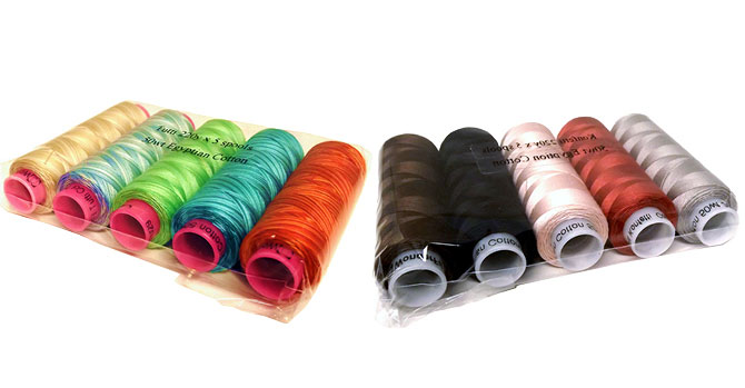 WonderFil Specialty Threads Tutti and Konfetti Five-Packs