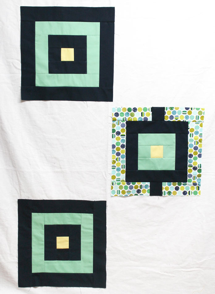 Here are the blocks made in the initial blog post of the pattern