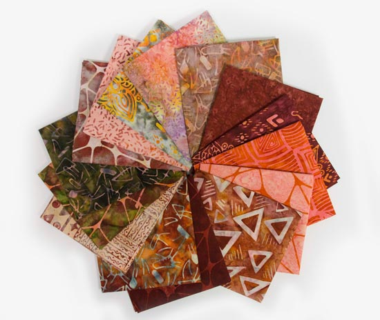 QUILTsocial Giveaway 227: Fat Quarter Bundle of Rock City by Banyan Batiks!