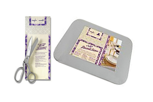 INSPIRA Bent Trimmer Scissors and iSew Placemat Forms