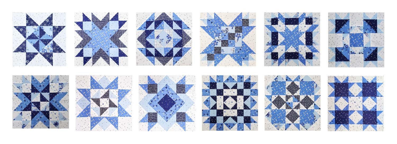 Spectrum QAL Blocks Riley Blake Designs