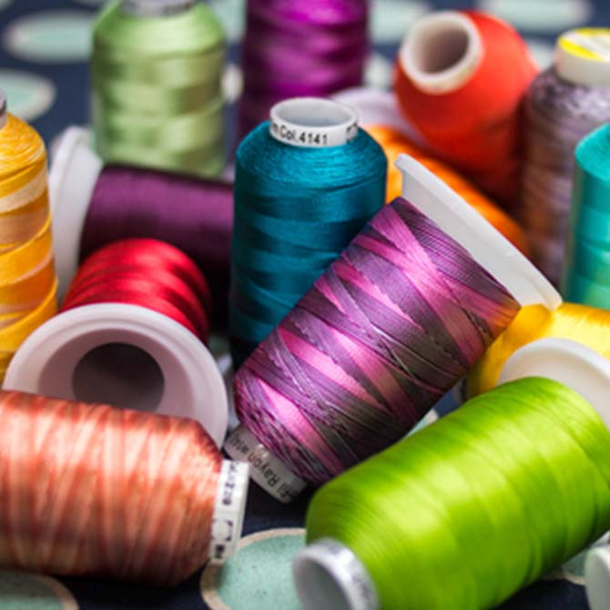 WonderFil Specialty Threads - spools of Splendor thread