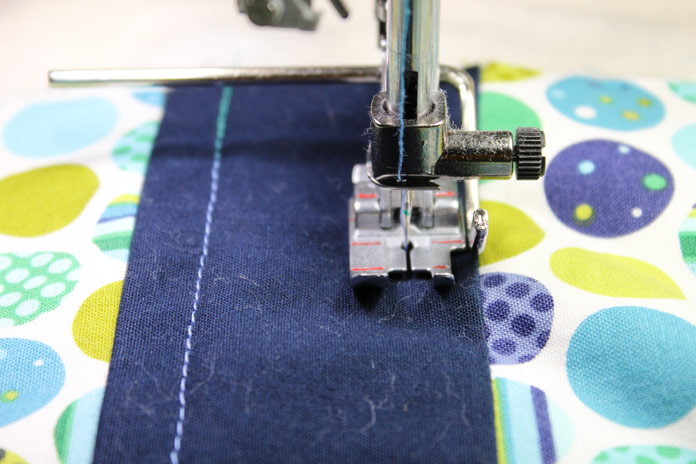 Using the quilting guide on PFAFF creative icon