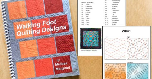 Quiltsocial Giveaway 144 Walking Foot Quilting Designs By