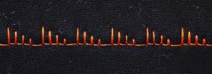 A cool blanket stitch