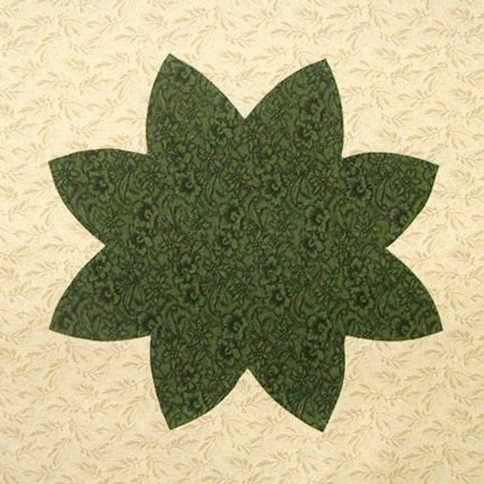 Applique leaves
