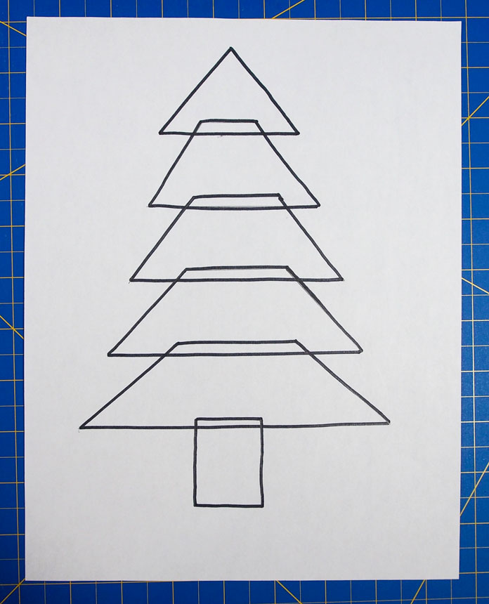 Tree template, Click on the picture to download PDF