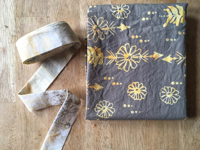 Banyan Batiks fabric selection for binding and backing