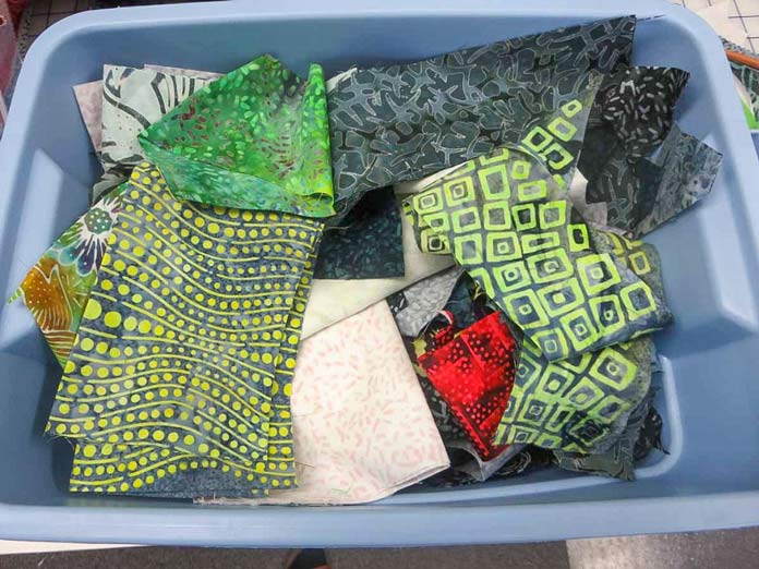 Leftover Banyan Batik scraps. Perfect for appliqué!