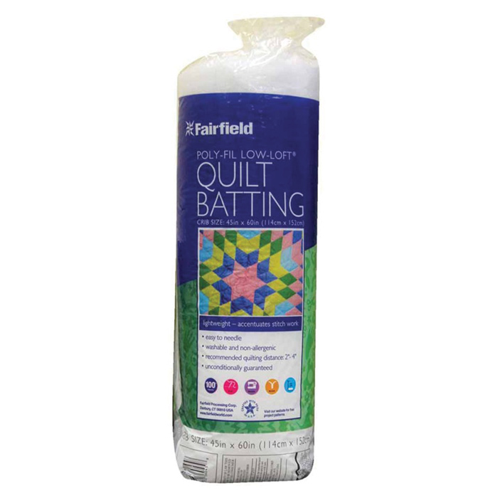 Fairfield low loft quilt batting