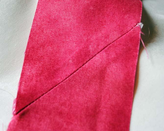 Binding seams sewn with DecoBob