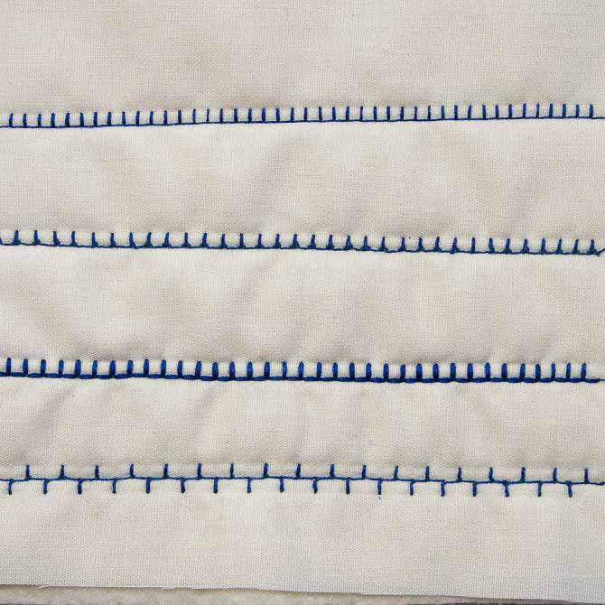 4 variations of the blanket stitch