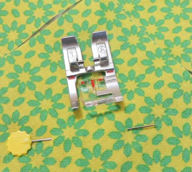 Presser foot 1A on the passport 3.0 is the recommended foot for sewing with a blanket stitch.