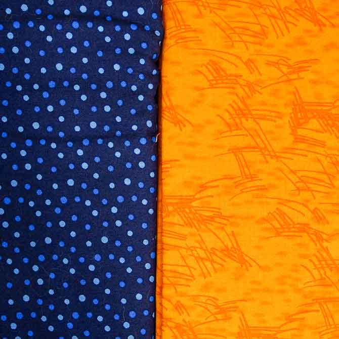 Blue & Orange complementary colors