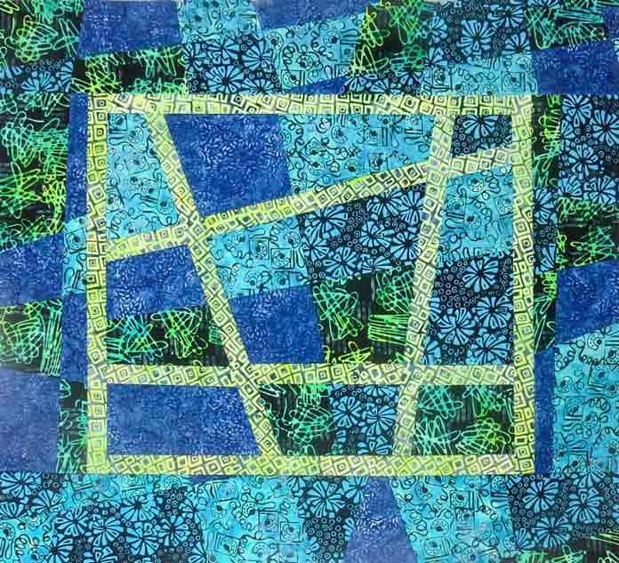 Creativity With A Leftover Banyan Batik Block