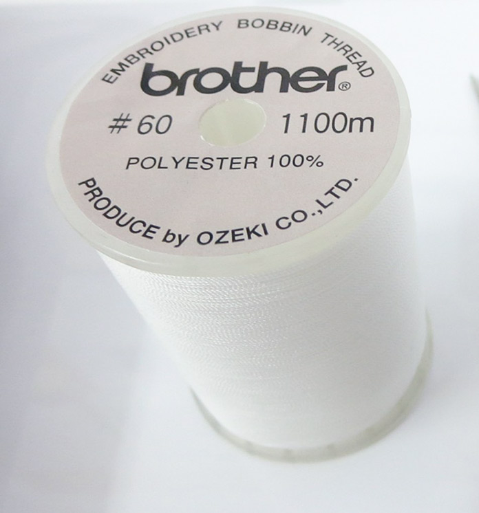Brother bobbin thread that comes with the machine