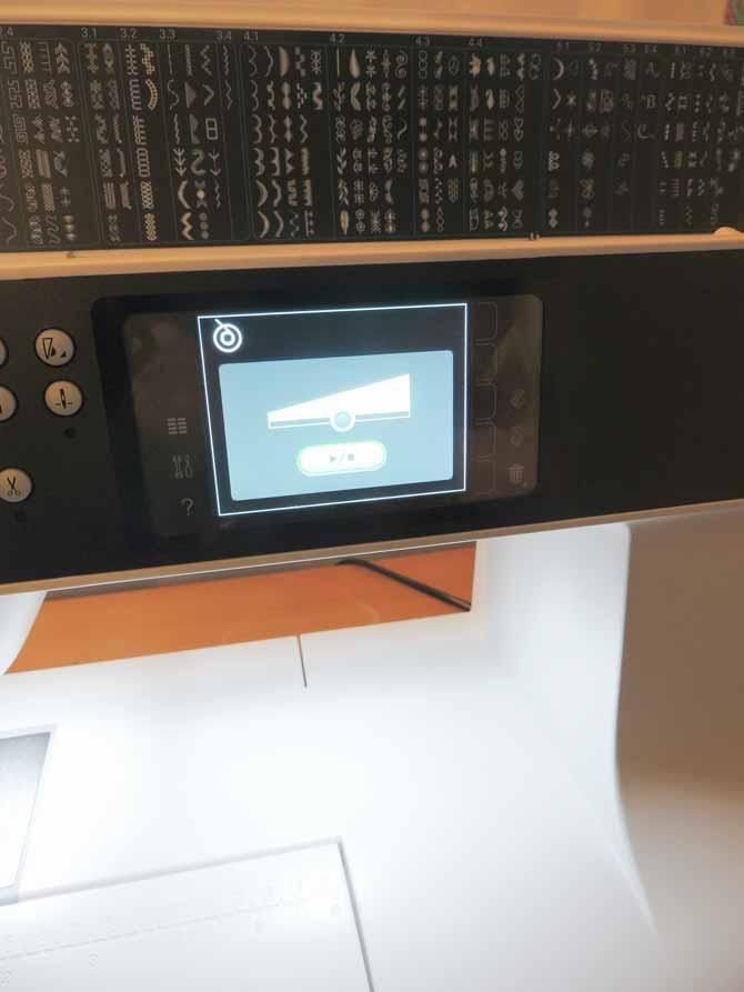bobbin winding popup PFAFF sewing machine