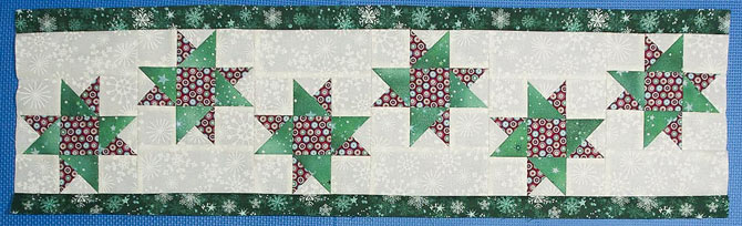 Green border added to top and bottom