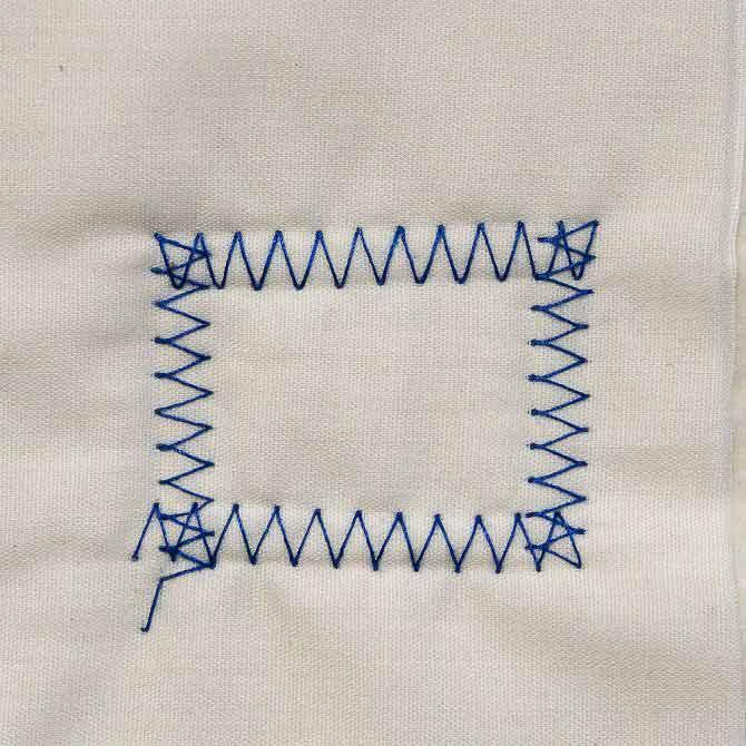 Zigzag square