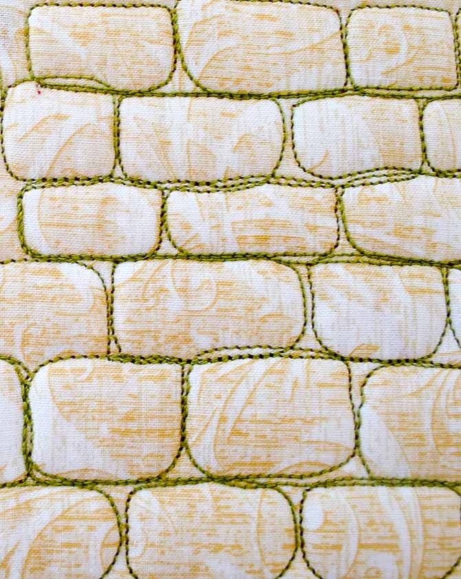 Free Motion Quilting: Landscape Elements & Modern Quilts - QUILTsocial