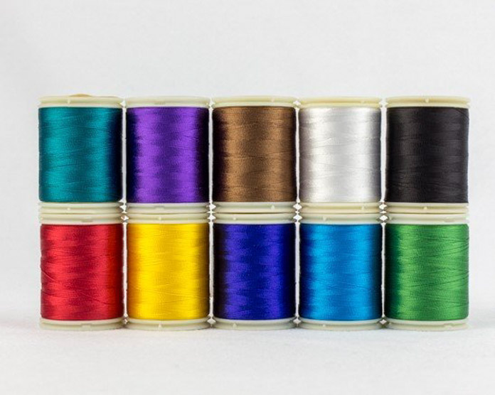 WonderFil Bright rayon thread pack.