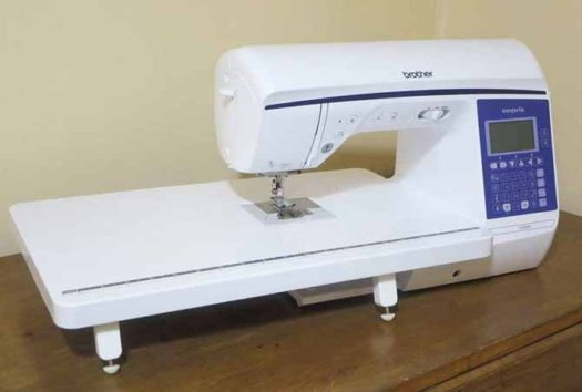 The new Brother NQ900 sewing machine